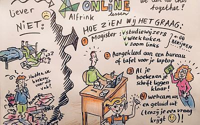 Online lessen in het nieuwe jaar