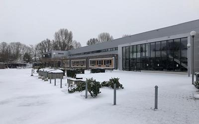 Schoolgebouw weer open dinsdag 9 februari