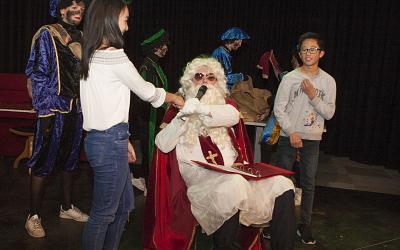 Sinterklaas komt langs voor klas 1